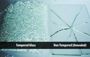 how to tell difference of tempered and annealed glass