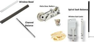 window parts window balances sash locks