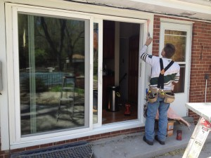 glass door installation in scottsdale