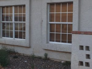 bronze glass window in Peoria