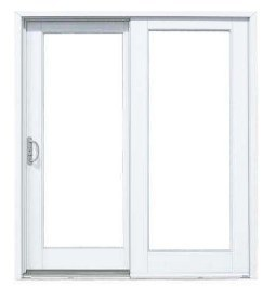 composite patio door sliding