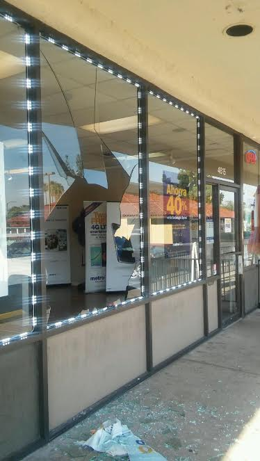 storefront glass door replaced in scottsdale