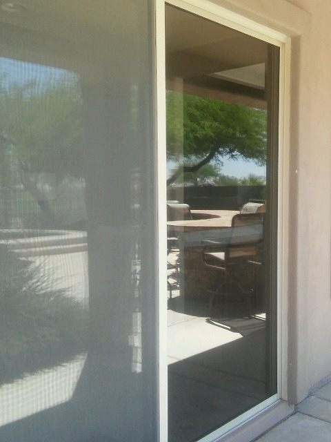 patio door glass replaced in Phoenix AZ