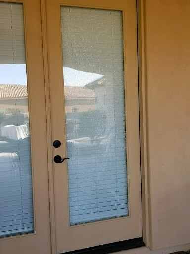 French Door Glass No Grids
