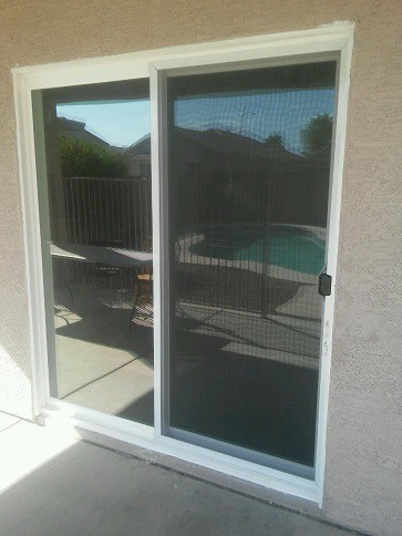 Beau Standard Size Vinyl Patio Door Replacement In Phoenix