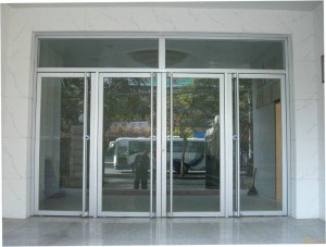 storefront glass door