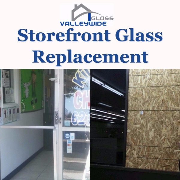 Storefront Glass Replacement Repair Company Phoenix