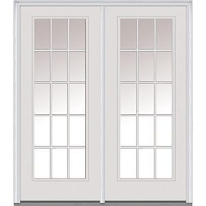 French Door with grids