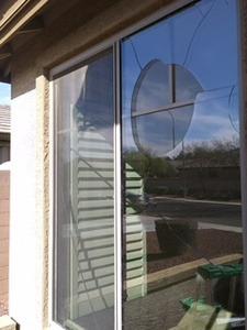 dual pane lowe with internal grids window