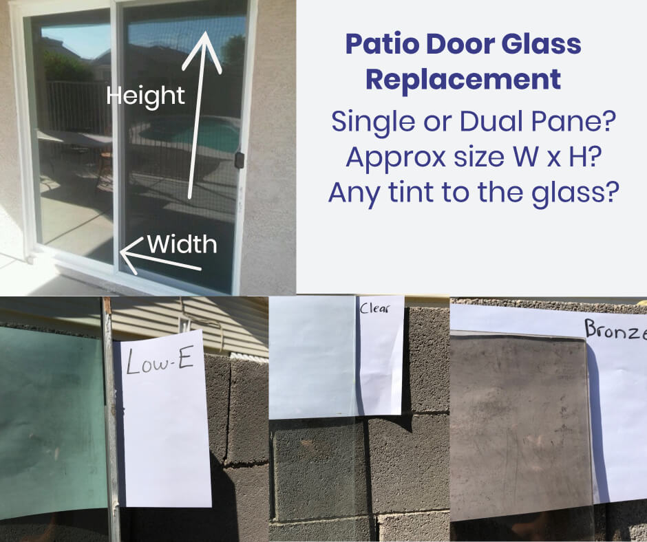 Cost to Replace Glass in Sliding Patio and French Door Inserts - Can You Replace Patio Door Glass The Same Day
