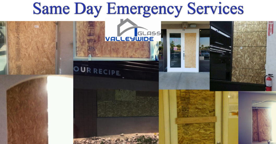 24 Hr Emergency Glass Replacement Company Phoenix