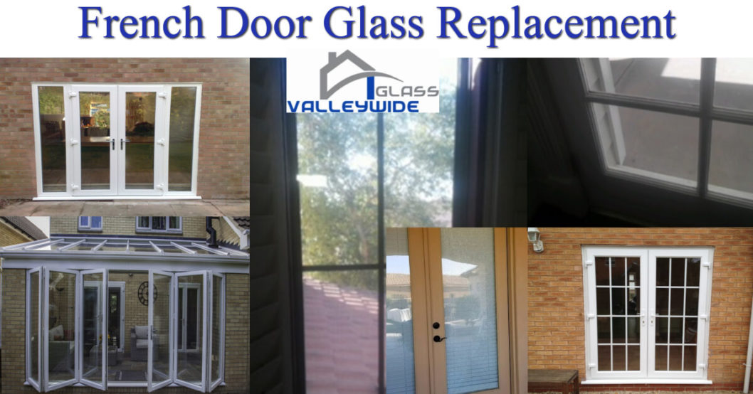 French And Swing Door Glass Replaced By Valleywide Glass Phx